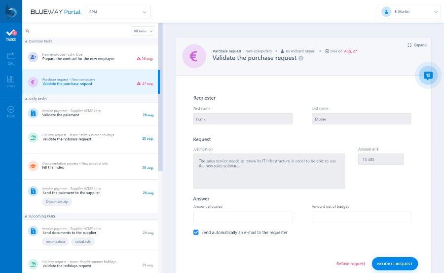 Portail collaboratif : amélioration workflow